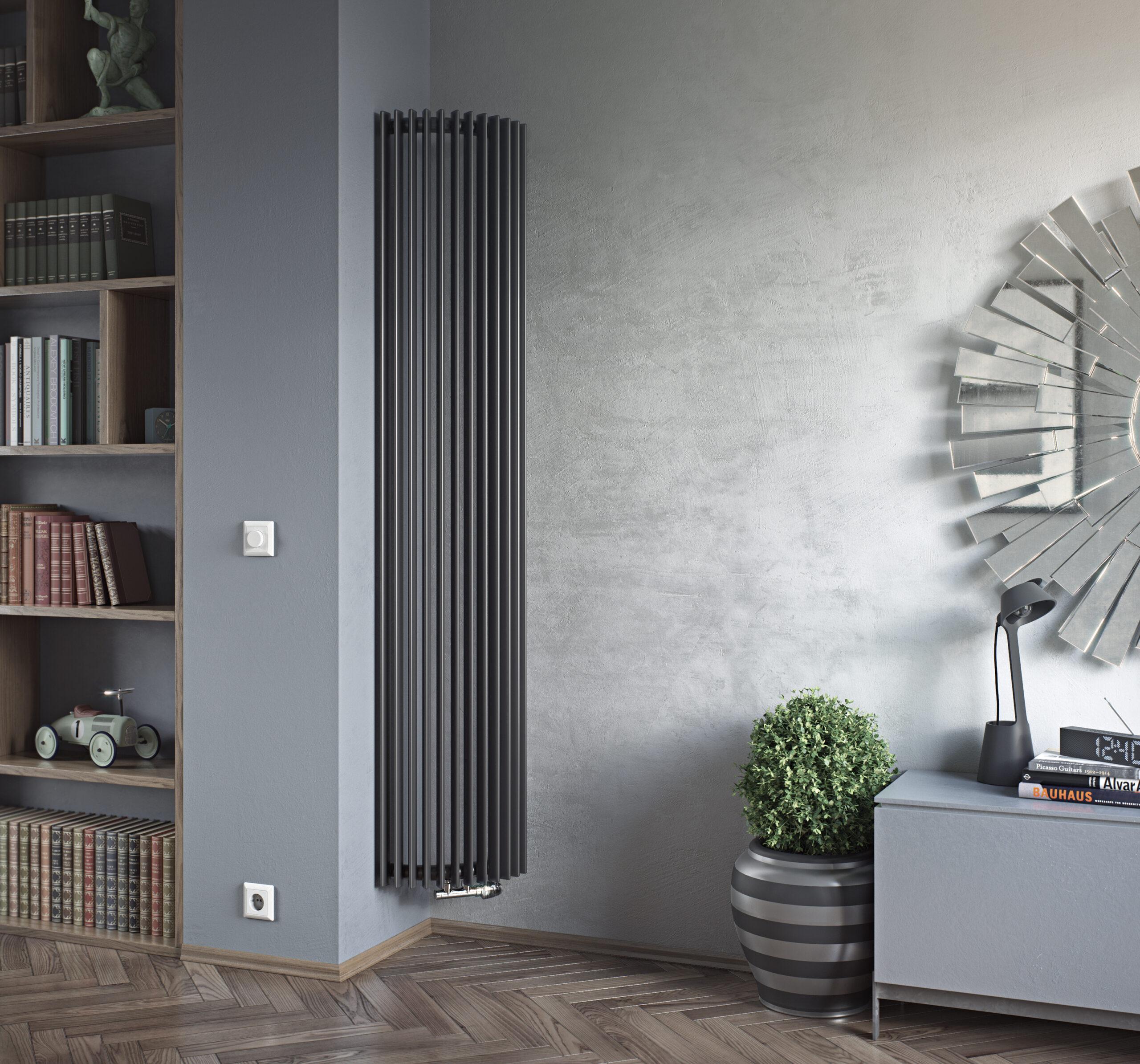 corner radiator