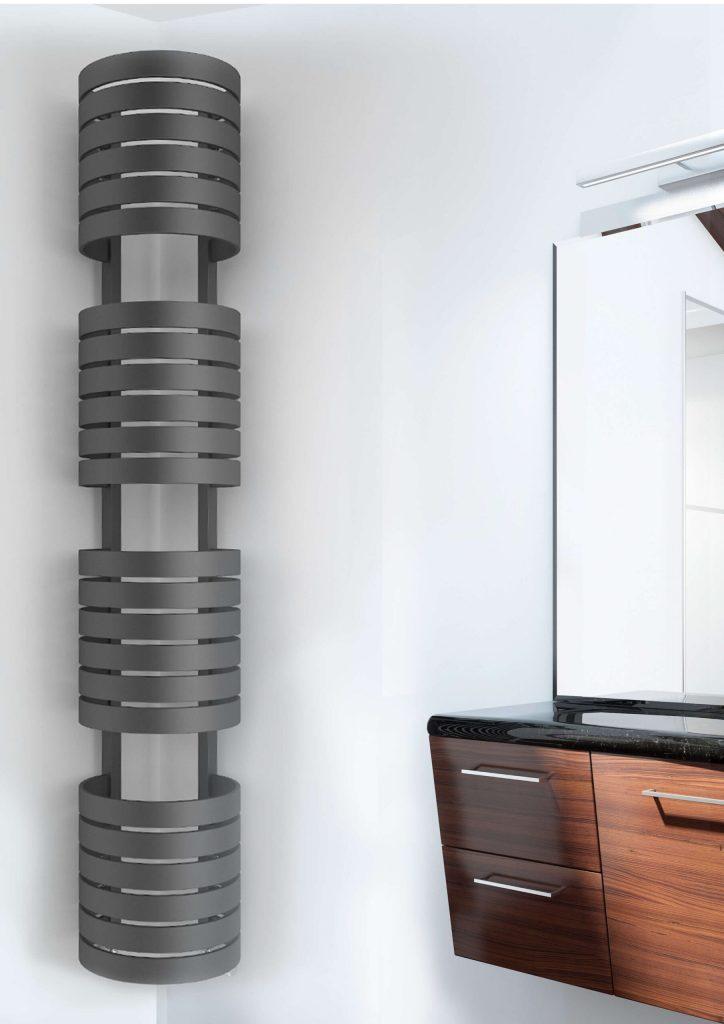 corner towel rail