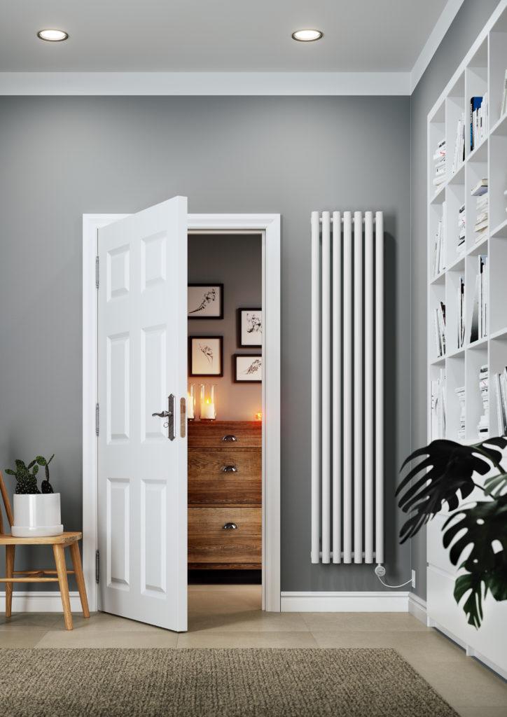 electric vertical radiator
