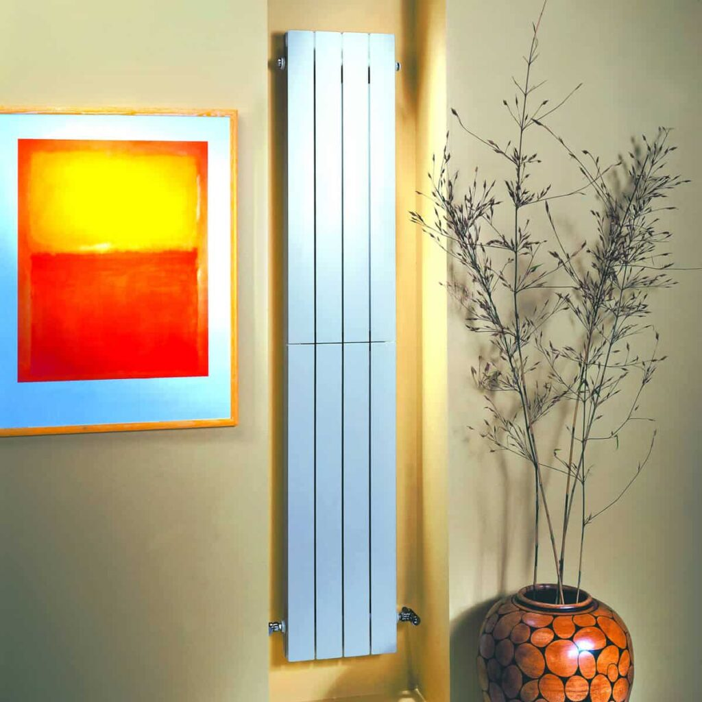 radiator care - blue colored radiator