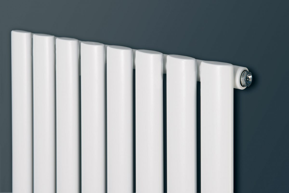 Nova Duo Tube Vertical Designer Radiator(White)